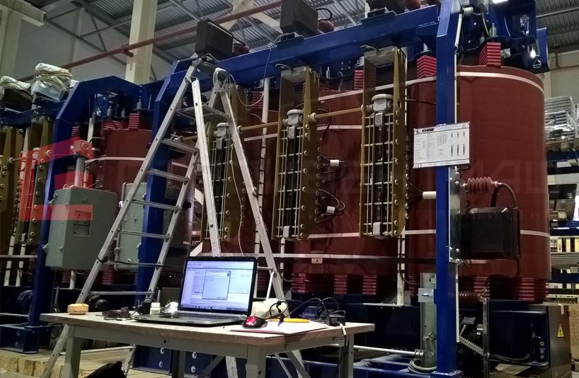 Аттестация сейсмостойкости Трансформатор силовой сухой 3-х фазный двухобмоточный с литой эпоксидной изоляцией