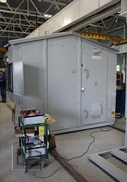 Аттестация сейсмостойкости Комплектной Трансформаторной Подстанции (КТП)