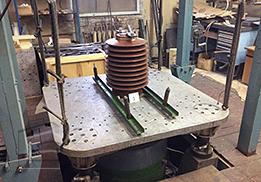 Испытания на сейсмостойкость Трансформатора