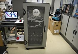 Испытания на сейсмоустойчивость оборудование Моторола