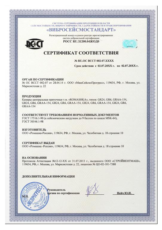 Сертификация сейсмостойкости аттестация сертификация среднего медицинского персонала