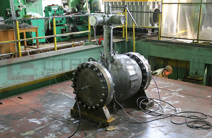 Механические испытания Сейсмостойкости и вибростойкости клапана Запорно-регулирующего