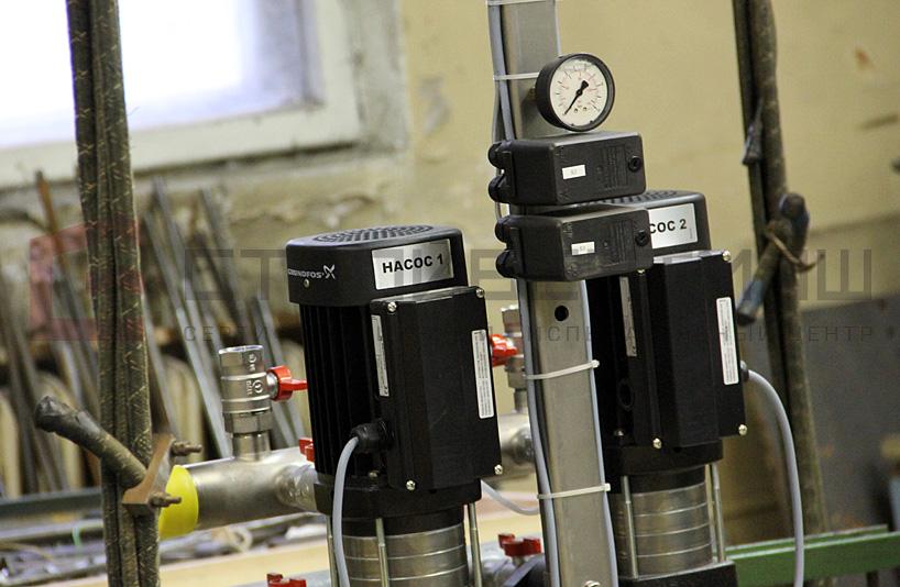 Испытания сейсмостойкости насосной станции