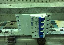 Ударные испытания устройства защитного отключения